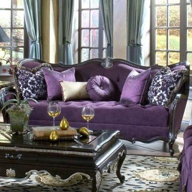 Purple Sofa Set Purple Furniture A Aubergine Sofa Accessories