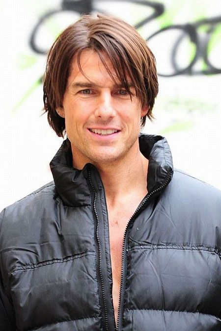 Tom Cruise Hairstyle Blonde Highlights In Dark Hair Cmljyov Hair Styles Tom Cruise Long Hair Tom Cruise Hair Long Hair Styles