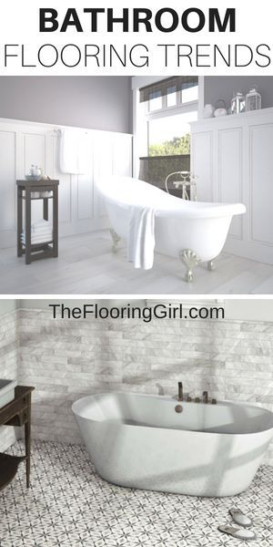 Top 7 Bathroom Flooring Trends For 2020 Tile The Flooring Girl