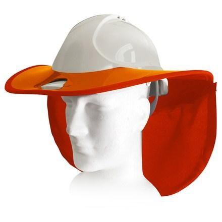 Snap Brim Sun Shade For Bullard C30 Cap Style Hard Hat Brim Sun Protection Sun Shade