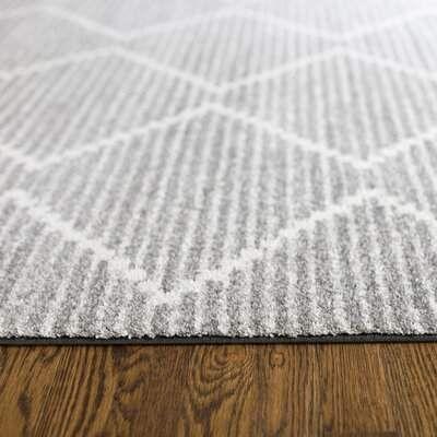Balta Rugs Elle Geometric Gray Area Rug