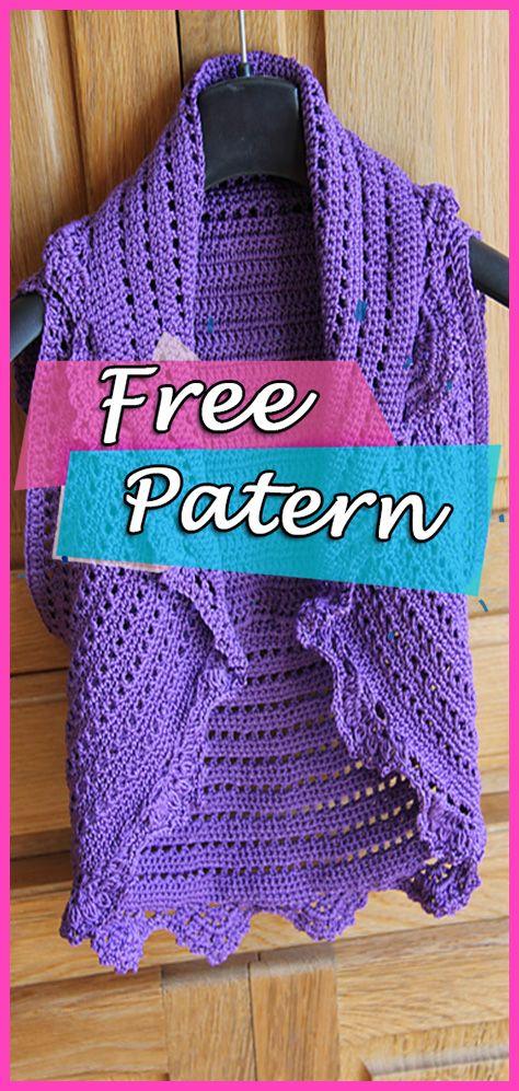 Peach Perfection Bolero Crochet Free Pattern Fashion Diy Shrug