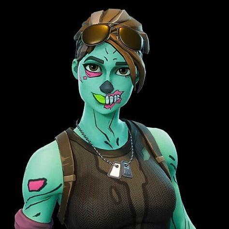 Chica Zombie Fortnite Wallpaper