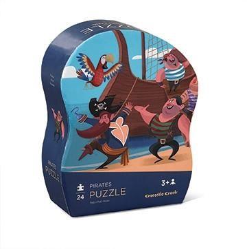 Crocodile Creek Pirate Mini 24 Piece Puzzle Crocodile Creek Puzzle Games For Kids Pirates