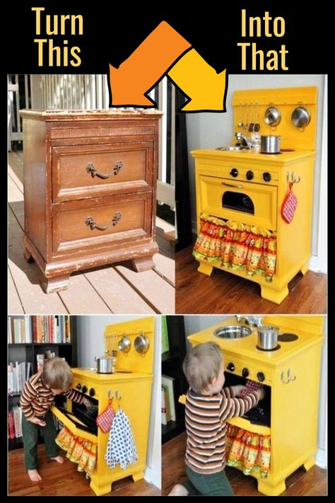 How To Repurpose a Dresser Without Drawers – 9 DIY Repurposed Dressers Makeover Ideas – Involvery – ✅ Jennifer's Easy DIY – Thrift Store Crafts Diy Furniture Decor, Baby Furniture, Repurposed Furniture, Handmade Furniture, Furniture Makeover, Furniture Design, Dresser Furniture, Garden Furniture, Furniture For Kids