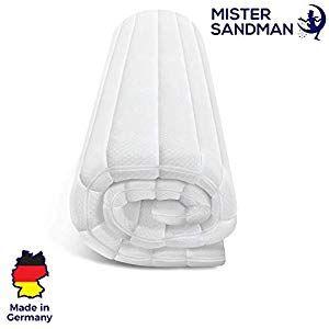 Mister Sandman Weicher Matratzentopper Aus Visco Fur Mehr Schlafkomfort Atmungsaktive Und E X Tra Weiche Matratzena Matratze Matratzenauflage Matratzen Topper