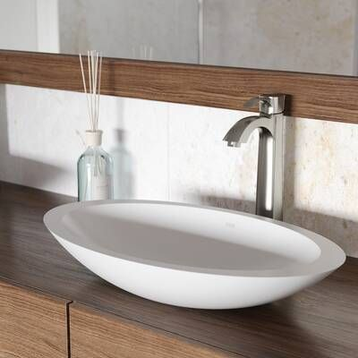 Stone Oval Vessel Bathroom Sink In 2020 Stone Vessel Sinks Bathroom Sink Sink