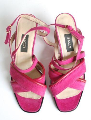 pink suede sandals uk