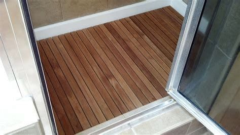 How To Build A Shower Pan On A Concrete Floor With Images Teak