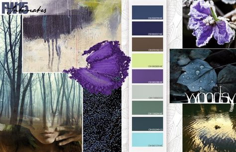 FASHION VIGNETTE: TRENDS // COLORWORLD (CSI + DYSTAR) - FALL/WINTER 2015-16 COLOR INSPIRATIONS - WOODSY
