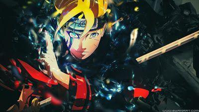 Gambar Boruto Wallpaper Naruto Kartun Gambar Anime