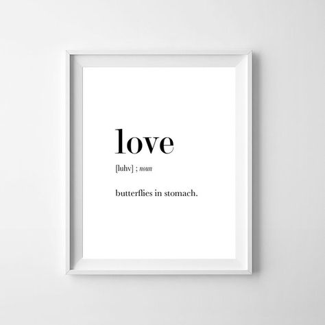 Love Funny Definition Print Love Definition Love Print Love