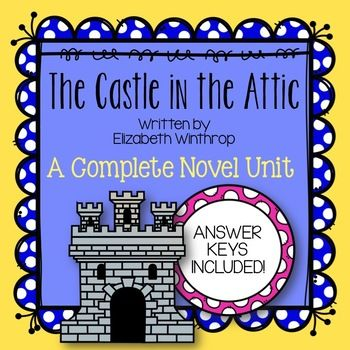 The Castle In The Attic Novel Study A Complete Literature Unit Novel Studies Literature Unit Novel Units