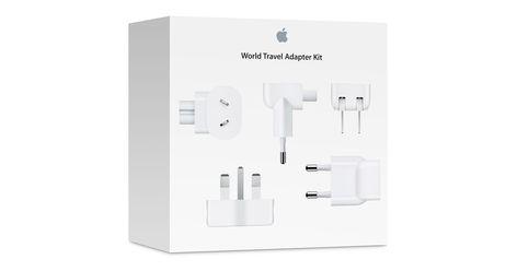 Appleワールドトラベルアダプタキット Travel Adapter Universal Power Adapter International Plug Adapter