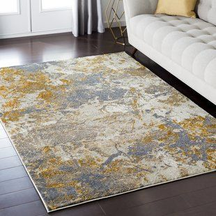 Knox Abstract Gray Gold Area Rug Area Rugs Beige Area Rugs