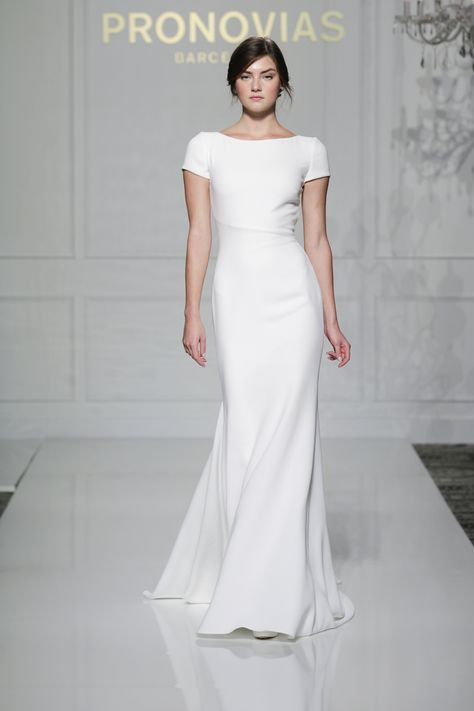 Simple Ceremony Dress: Isis Gown - BHLDN | My Wedding Day ...