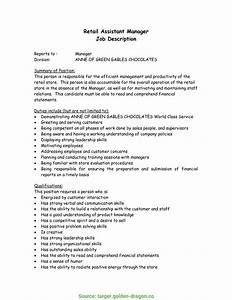 Briliant Grocery Store Manager Job Description For Resume Sample