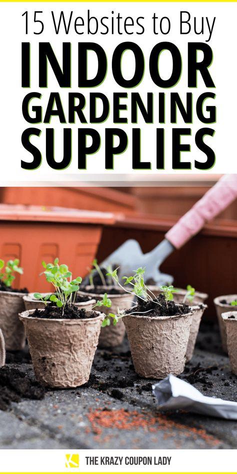 Indoor Gardening 15 Places To Get Garden Supplies Online Garden
