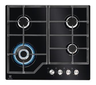 Electrolux Kgg6436k Plyta Gazowa Cena I Opinie Electrolux Stove Top Kitchen Appliances