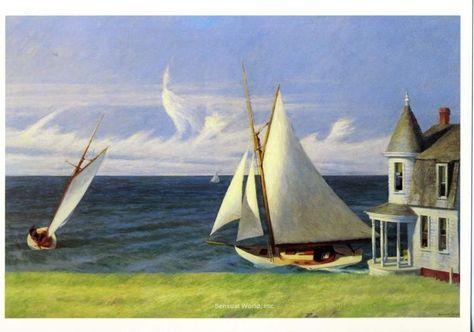 Edward Hopper - The Circle Theater | Edward hopper, Edward