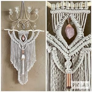 Large Macrame Wall Hanging Wall Tapestry Large Woven Wall Hanging Macrame Wall Art Macrame Wall Decor Macrame Elegance Macrame Wall Art Woven Wall Hanging Macrame Wall Hanging