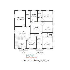 تصميم منزل صغير من طابقين Model House Plan House Layout Plans House Layouts