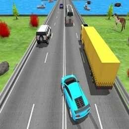 لعبة حمي المتسابق في زحام المرور Traffic Racer Fever Car Games