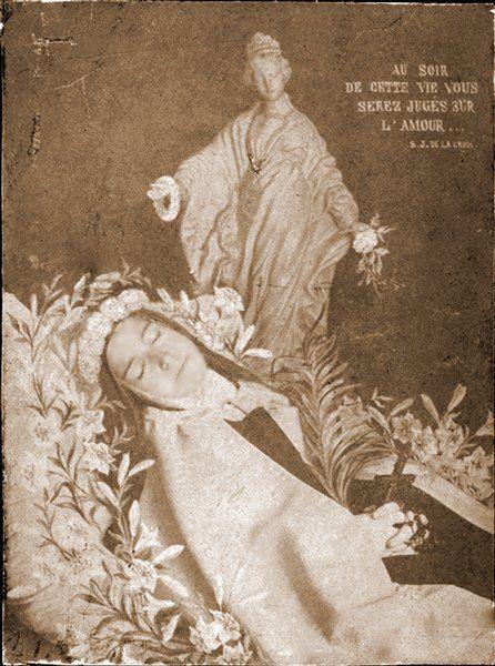 Je Ne Meurs Pas J'entre Dans La Vie : meurs, j'entre, Thérèse, Lisieux, Twitter, Therese, Lisieux,