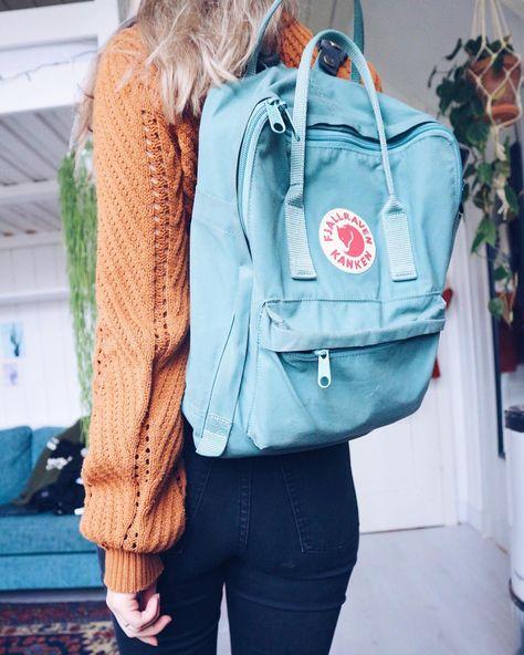 fjällräven, kånken, backpack, frostgreen