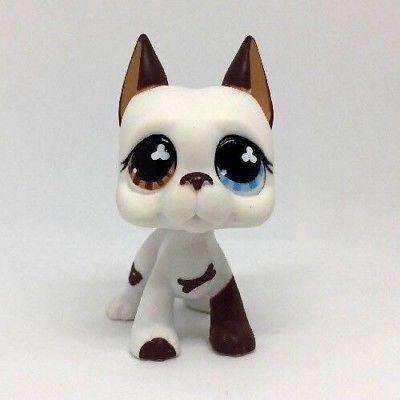 Grey Great Dane Pubby Dog Littlest Pet Shop Lps Mini Action