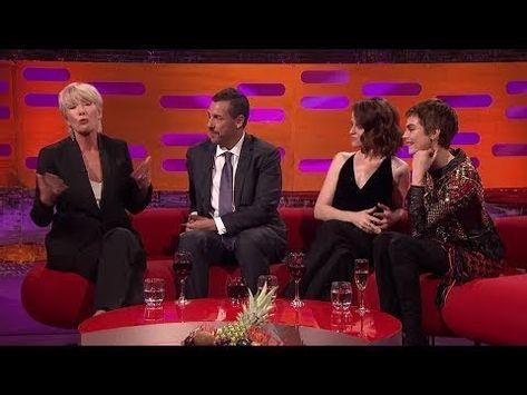 The Graham Norton Show S22E05 Emma Thompson, Adam Sandler, Claire Foy, Cara Delevingne - YouTube