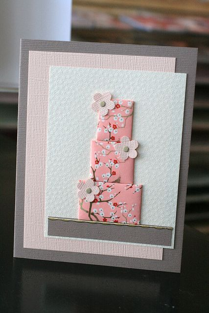 Japanese Paper Quiliting Cards- April 2010 by Craft Fancy, via Flickr