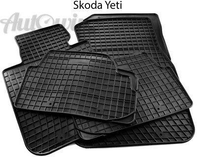 Ad Ebay Rubber Black Floor Mats For Skoda Yeti 2009 Lhd Left Hand Driver Black Floor Floor Mats Volkswagen Up