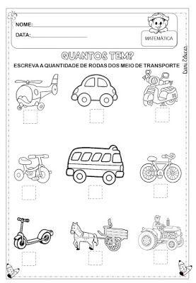 Atividades Matematica Educacao Infantil Danieducar