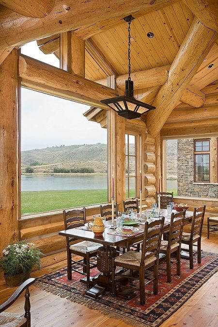 Fayette Ranch Log Cabin | Home Decorating | Pinterest | Log cabins ...