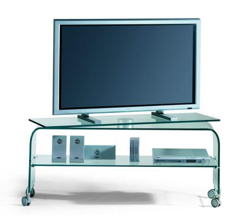 Porta TV in vetro curvato Reflex   Porta tv, Mobili porta tv ...