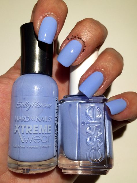 DUPES: Babe Blue vs. Bikini So Teeny. Perfect dupe and only $2.50!