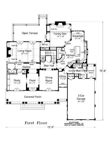 Magnolia Master Up Vintage House Plans House Plans Southern House Plans