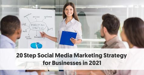 20 Step Social Media Marketing Strategy for Businesses in 2021