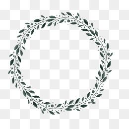 Circular Border PNG Images Vector and PSD Files Free Download on Pngtree Wedding borders Blossoms art Leaf images