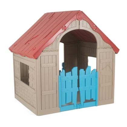 Keter Wonderfold Speelhuis Play Houses Playhouse Outdoor