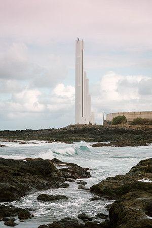 Reparación Faro De La Punta Del Hidalgo Imágenes Del Proceso De Rehabilitación Del Faro De Punta Del Hidalgo Faro Situado Islas Islas Canarias Tenerife