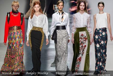 0191bdc945c Модные юбки 2015 2016 Осень Зима - ключевые тренды
