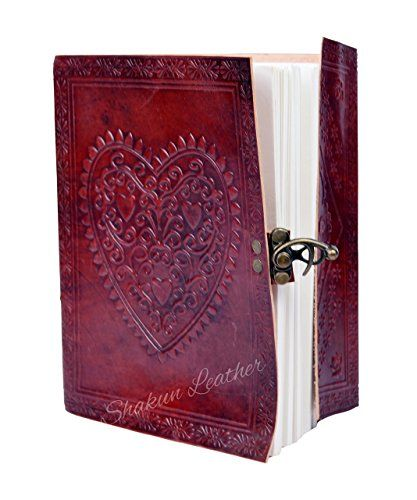 Leather Journal Handmade by DreamKeeper Tree Celtic Embossed Travel Notebook