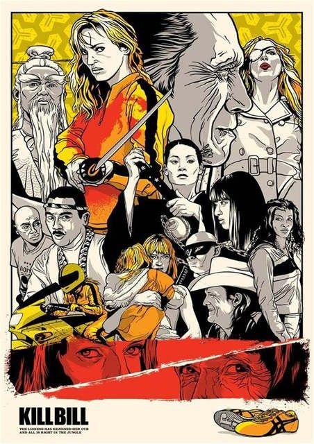 Kill Bill Kill Bill Film Posters Vintage Movie Posters Minimalist