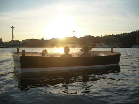 Hot Tub Boat!  And it's in Seattle for rent!  I know what I'm doing this summer!
