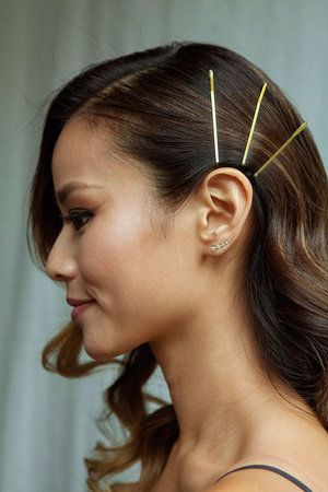 The Ultimate Guide To Bobby Pins Howtowear Fashion Hair Pins Hair Styles Clip Hairstyles