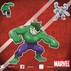 metanikmarvelform Machamp, The Hulk (Marvel Form)  Type