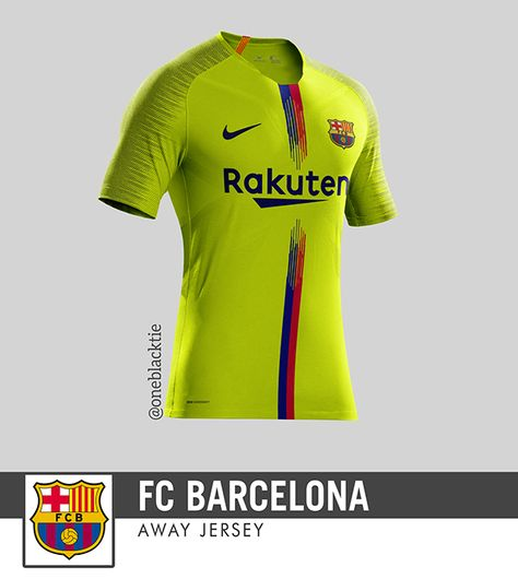 476d62309cc Nike FC Barcelona 2018-19 Home Jersey + Concepts on Behance | áo Barca
