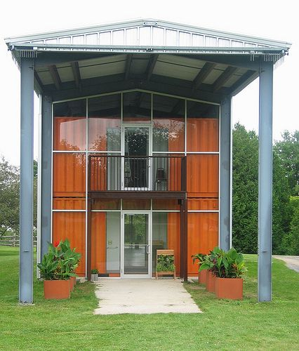 Cottage and guest house on pinterest 154 pins - Awesome shipping container homes ...